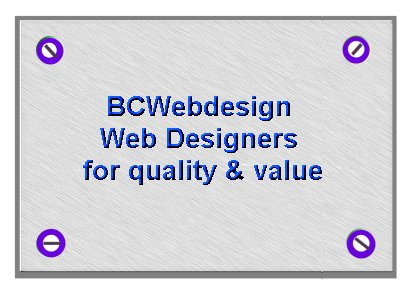 BCWEBDESIGN VALUE FOR MONEY AND QUALITY